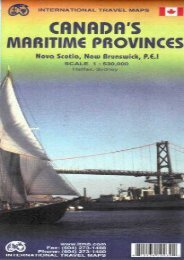 Canada s Maritime Provinces 1:530 000 Travel Reference Ma (International Travel Maps)