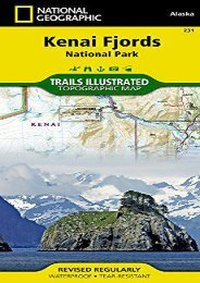 Kenai Fjords National Park (National Geographic Trails Illustrated Map)