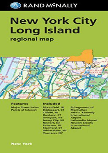 Folded Map: New York City Long Island Regional Map (Rand McNally New York City/Long Island)