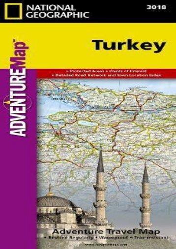 Turkey (National Geographic Adventure Map)