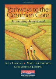 Pathways to the Common Core: Accelerating Achievement