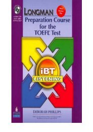 Longman Introductory Course for the TOEFL Test: IBT
