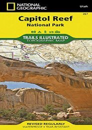 Capitol Reef National Park (National Geographic Trails Illustrated Map)