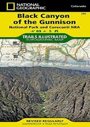Black Canyon of the Gunnison National Park [Curecanti National Recreation Area] (National Geographic Trails Illustrated Map)