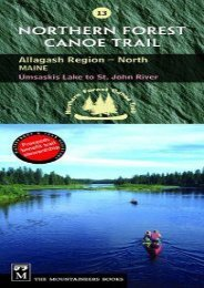Northern Forest Canoe Trail Map 13: Allagash Region, North: Maine, Umsaskis Lake to St. John River (Northern Forest Canoe Trail Maps)