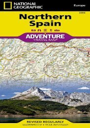Northern Spain (National Geographic Adventure Map)