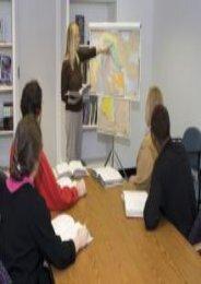 Abingdon Bible Land Maps with Charthead   Tripod--Set of 8