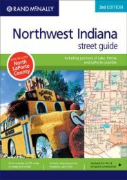 Rand McNally Northwest Indiana Street Guide