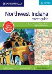 Rand McNally Northwest Indiana Street Guide