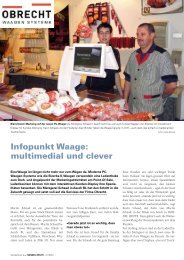 Infopunkt Waage: multimedial und clever