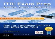 ITIL Exam Prep Questions, Answers,   Explanations: 800+ ITIL Foundation Questions with Detailed Solutions