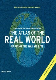 The Atlas of the Real World: Mapping the Way We Live (Revised and Expanded)