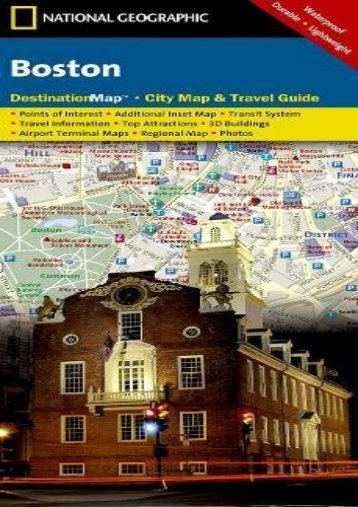 Boston (National Geographic Destination City Map)