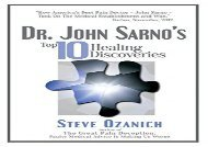 Dr. John Sarno s Top 10 Healing Discoveries