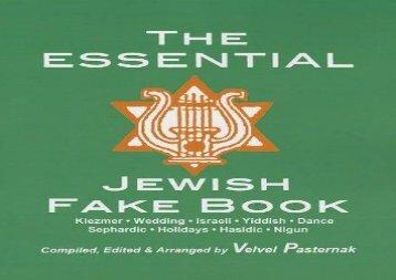 THE ESSENTIAL JEWISH FAKE BOOK