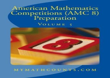 American Mathematics Competitions (AMC 8) Preparation (Volume 5)