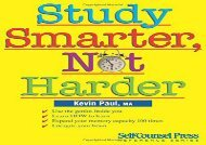 Study Smarter, Not Harder (Self-Counsel Reference)