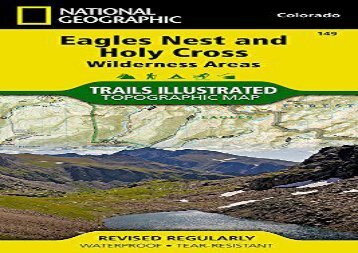 Holy Cross/Eagles Nest Wilderness : Trails Illustrated (National Geographic: Trails Illustrated Topographic Maps)