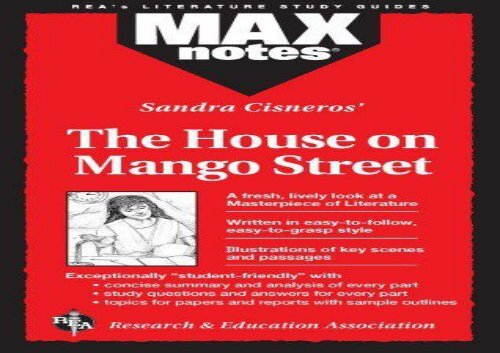 The House on Mango Street (MAXNotes Literature Guides)