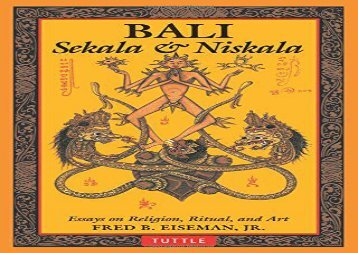 Bali: Sekala   Niskala