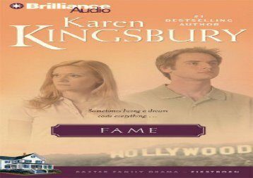 Fame (Firstborn (Brilliance Audio))