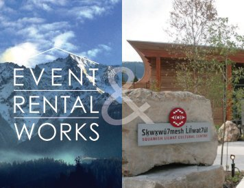 SLCC and Event Rental Works