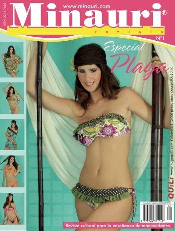 Minauri Nº 1 Swimsuit - Playa ( Pattern Magazine )