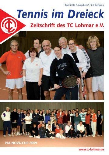 Tennis im Dreieck - TC Lohmar