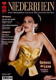 Luxus – Design – Stil - TOP-Magazin Niederrhein