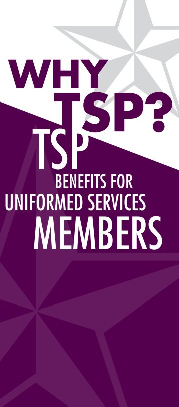 TSP Benefits for Uniformed Services Members