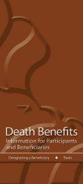 TSP Death Benefits