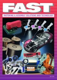 Fastening & Assembly Solutions & Technology July 2012