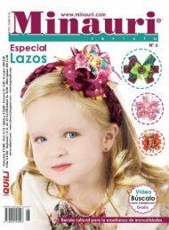 Minauri Nº 6 Hairbows Lazos Moños ( Magazine )