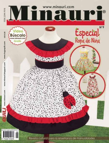 Minauri Nº 09 Girl Dress - Vestidos de Niña ( Pattern Magazine )