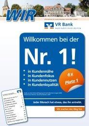 bei der Nr. 1! - VR Bank eG Bergisch Gladbach