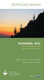 Scottsdale, Ariz. - ACHE.org
