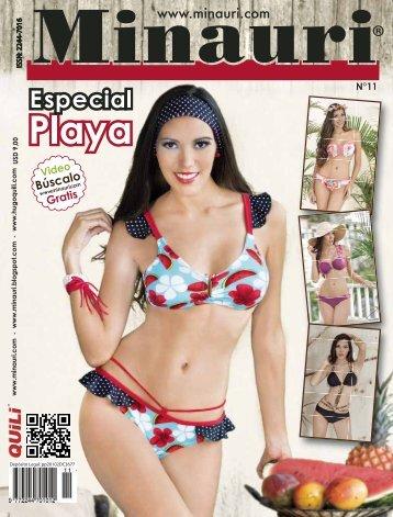 Minauri Nº 11 Swimsuit - Playa ( Pattern Magazine )