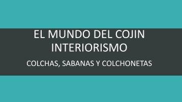 COLCHAS, SABANAS Y COLCHONETAS