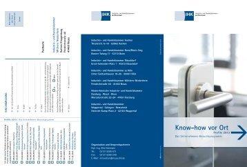 Know-how vor Ort - IHK Mittlerer Niederrhein