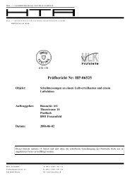 Prüfbericht Nr: HP-06525