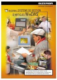 SYSTEME DE GESTION D'ARTICLES WINCWS®
