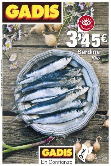 Folleto ofertas Gadis Galicia hasta 16 de Agosto 2017