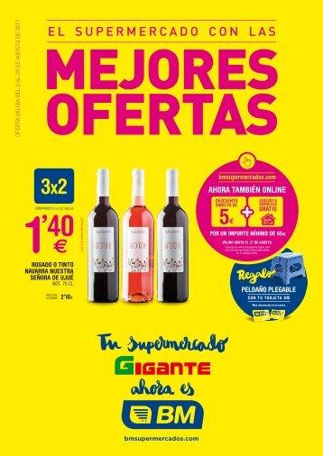Folleto BM Supermercados hasta 29 de Agosto 2017