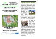Baulehrschau am Landwirtschaftszentrum Eichhof, Bad Hersfeld ...