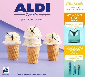 Folleto ALDI hasta 13 de Agosto 2017