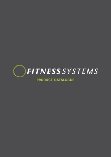 Fitness Systems Product Catalog