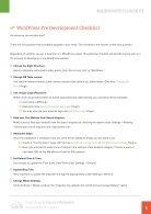 WordPress Checklist - Page 4