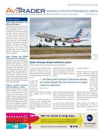 AviTrader_Weekly_Headline_News_2017-08-07