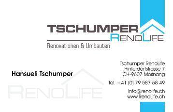Tschumper RenoLife