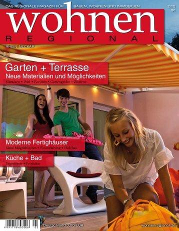 Garten + Terrasse - Wohnen Regional Online Magazin